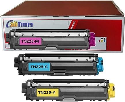 3PK TN225 Brother Toner HL-3140CW HL-3170DW MFC-9130CW MFC-9330CDW MFC-9340CDW
