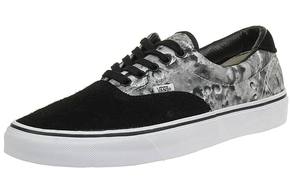 c0b53d79dd Vans Mens Gents Black Grey U Era Lace Ups Trainers Pumps - Black Grey - UK  Size 7  Amazon.co.uk  Shoes   Bags