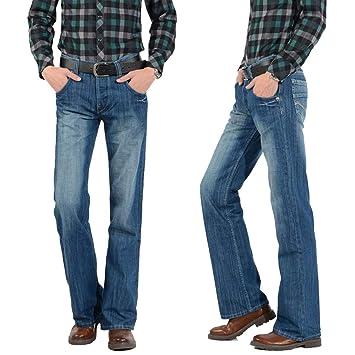 c09a1bbb4 Vaqueros Tapered para Hombre Pantalón ancho para hombre