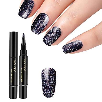 Moretime - Bolígrafo de uñas duradero y resistente al agua, 1 ...