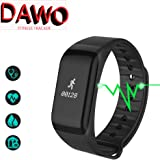 Fitness Tracker,Waterproof Activity Tracker with Heart Rate Blood Pressure Blood Oxygen Monitor,Smart Wristband with Calorie Counter Watch Pedometer Sleep Monitor Bluetooth Bracelet