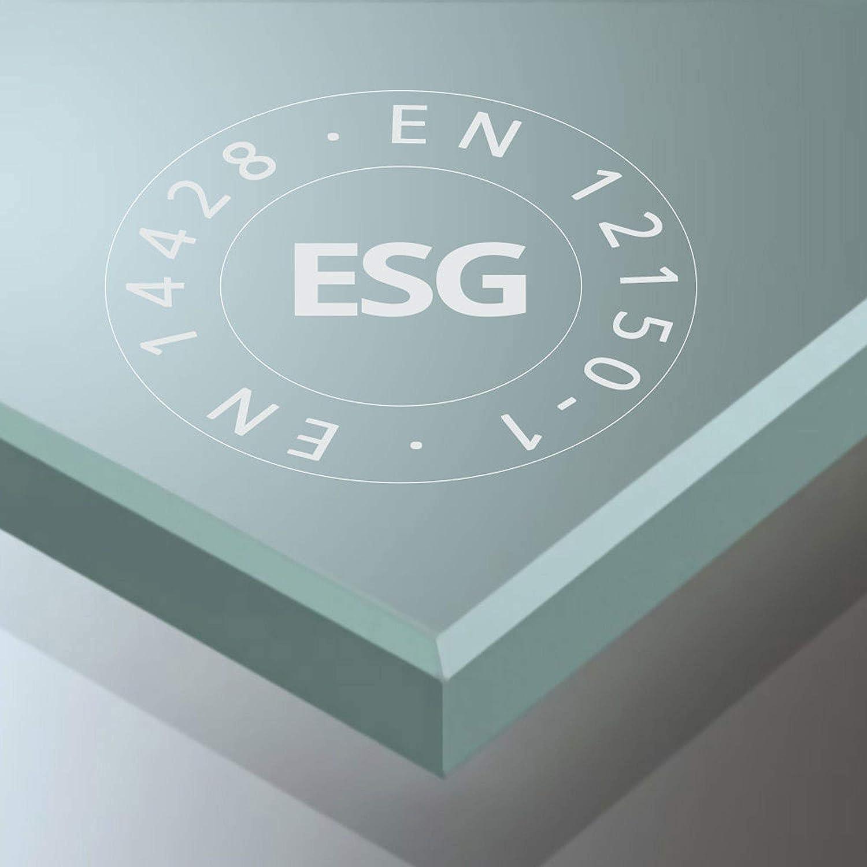 Sogood porte de douche pour niche 120X195 porte coulissante paroi de douche avec porte glissante verre ESG 8mm Nano anti-calcaire Teramo4-2 sans contour