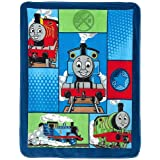 "Hit Entertainment Thomas ""Track Star"" Fleece Throw"