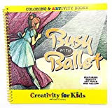 Faber-Castell Creativity For Kids Coloring & ARTivity Book: Busy With Ballet