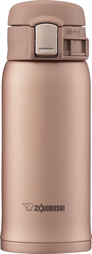 Zojirushi SM-SD36NM Stainless Steel Vacuum Insulated Mug, 12-Ounce, Matte Gold