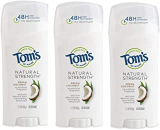 product image for Tom's of Maine Natural Strength Deodorant, Fresh Coconut, 6.3 Ounce