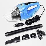 Car Vacuum Cleaner Mini Portable Handheld Automotive DC -12V Wet Dry Auto Vacuum Cleaner Blue