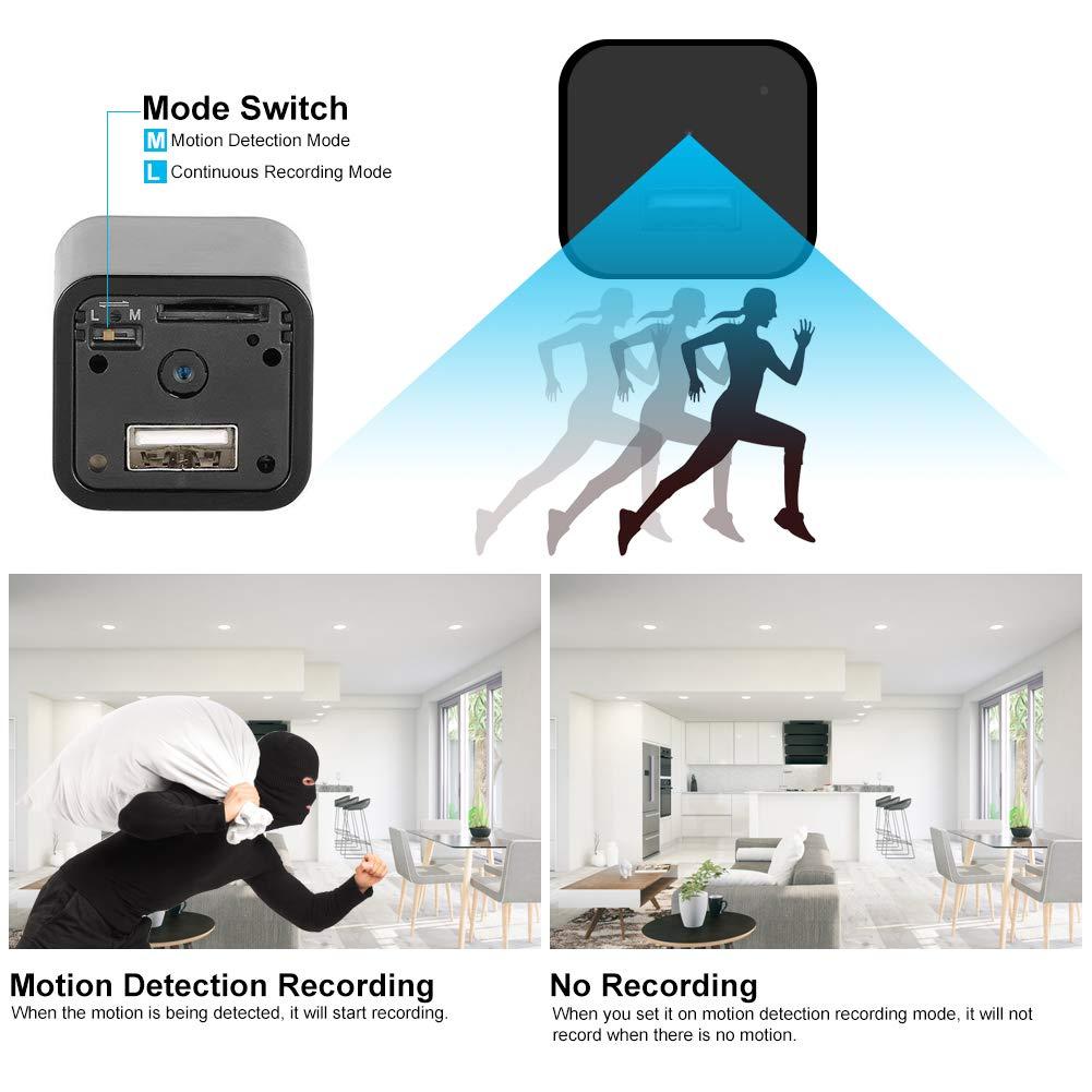 Spy Camera – Hidden Camera – Premium Pack – HD 1080P – Motion Detection – USB Hidden Camera – Surveillance Camera – Mini spy Camera – Nanny Camera – Best Spy Camera Charger – Hidden Camera Charger