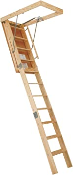 Century Attic Stairway 10 350 Lb Heavy Duty Rough Opening 25 1 2 X 54 Wood Moldings And Trims Amazon Com