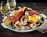 Kansas City Steaks Seafood Feast - 2 trays weighing 2lb 10oz each