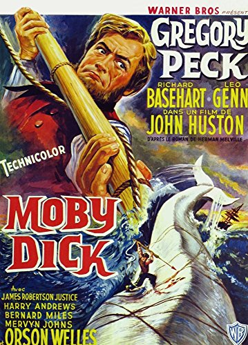 Moby Dick Movie Poster Masterprint