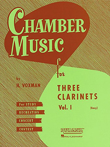 Download Chamber Music for Three Clarinets, Vol. 1 (Easy) pdf epub