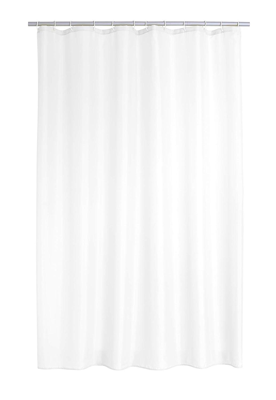 180 x 200 cm Tenda da Doccia in Poliestere Colore: Bianco Ridder Uni