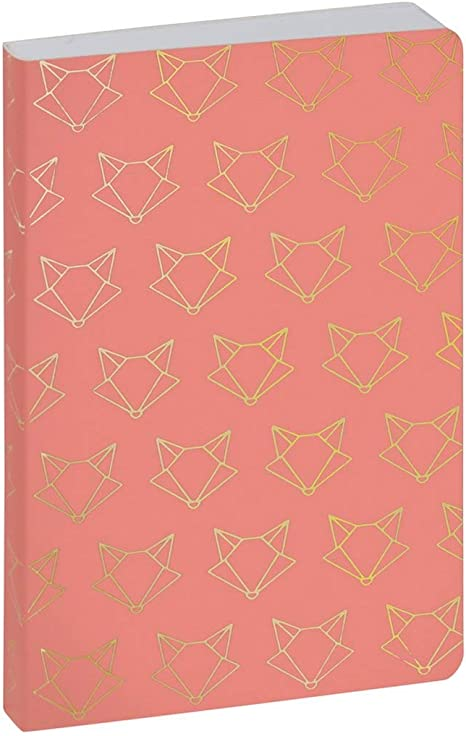 Clairefontaine 15010120e Agenda Work and after 1 jour par page Aout 2020 juillet 2021 10 cm x 15 cm Origami ocre renard