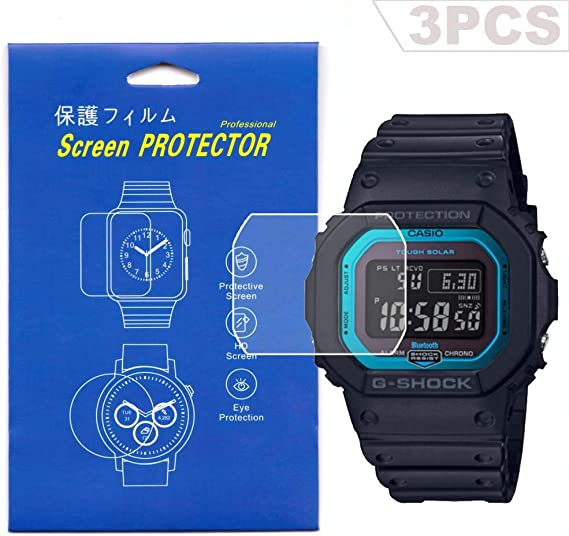 CASIO Tough Solar HD Crystal protector//anti scratch//protection// set of 2