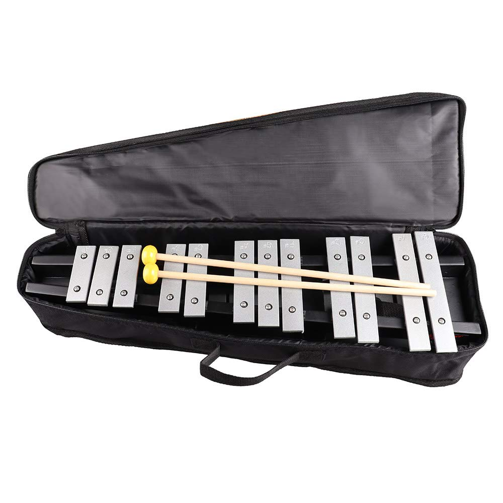 Mr.Power Foldable Glockenspiel Xylophone Vibraphone Percussion Instrument 30NOTES by Mr.Power (Image #6)