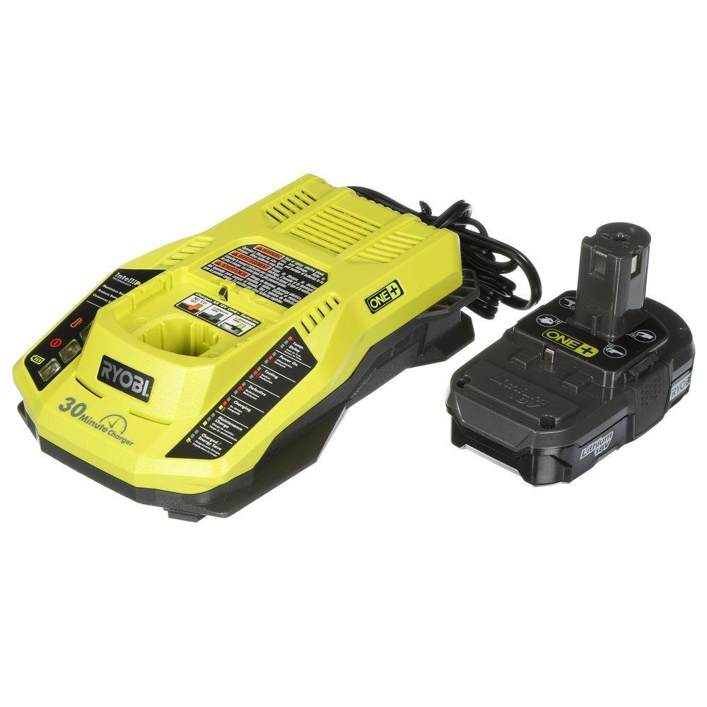 Ryobi 18-Volt ONE+ Cordless Full Size Glue Gun with Charger and 18-Volt ONE+ Lithium-Ion Battery (Bundle) by Ryobi (Image #6)