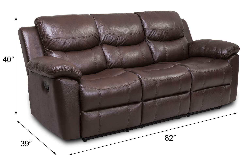 Amazon.com: JUNTOSO - Juego de sofás reclinables de 3 piezas ...