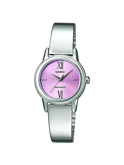 ba1dd1a6b714 Casio LTP-1343D-4CEF - Reloj analógico de cuarzo para mujer con correa de acero  inoxidable