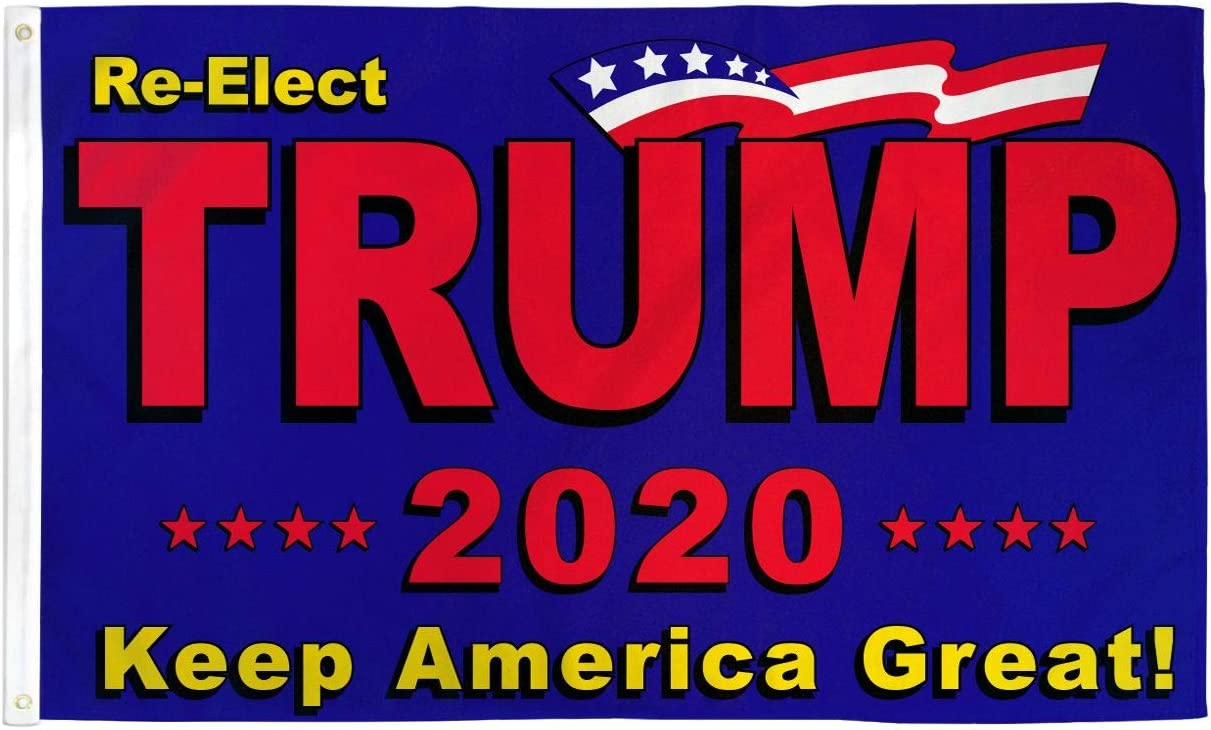 3/'x5/' Trump 2020 Blue Flag /& Make America Great Again 45th President Red Hat