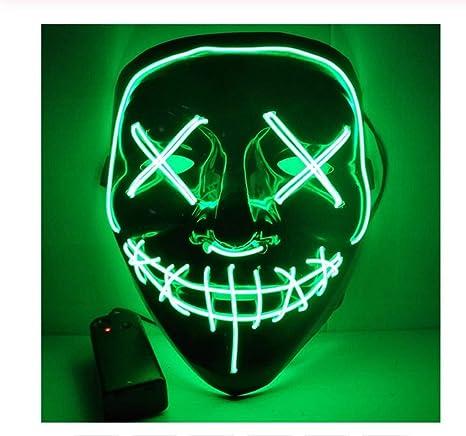 ZZXXGG Halloween Fiesta de Navidad de Halloween Máscara de ...