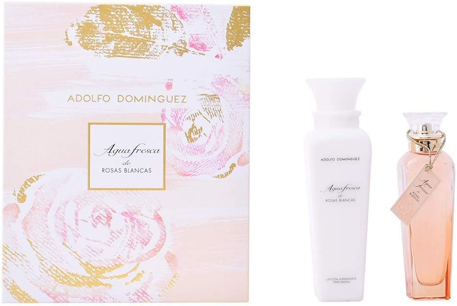 Adolfo Dominguez Agua Fresca de Rosas Blancas Set de Regalo - 2 Unidades: Amazon.es: Belleza