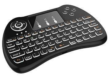 Dupad Story - Mini teclado Android inalámbrico, ratón Touchpad para Android