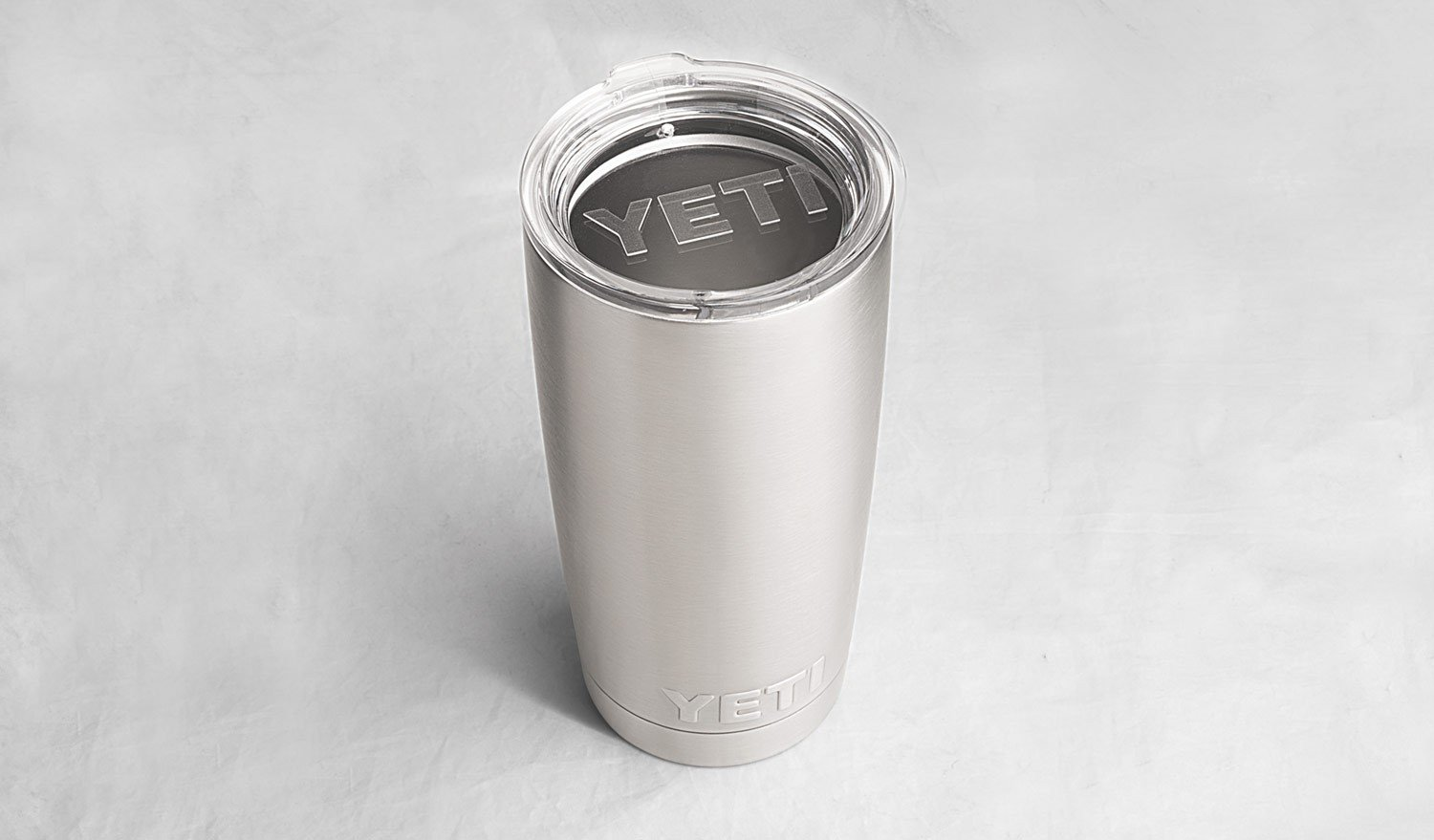 YETI Rambler 20 oz Stainless Steel Vacuum Insulated Tumbler with Lid (Stainless Steel) by YETI (Image #2)