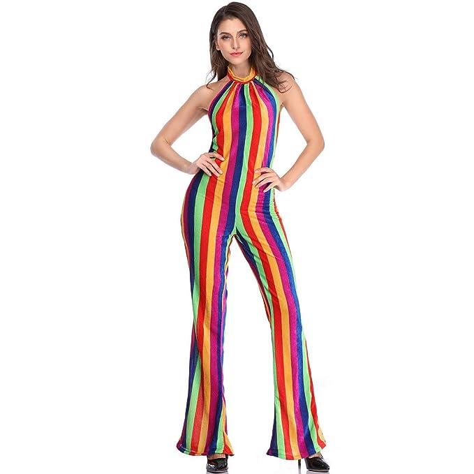 Story of life Disfraz De Halloween Retro para Mujer Cabaret Disco ...