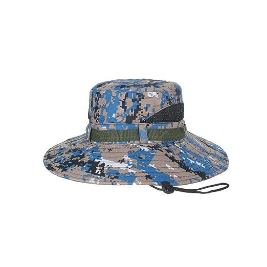 2dcaf868e Amazon.com: Summer Sun Hat UPF 50+ Hat Adjustable Bucket Hats Sun ...