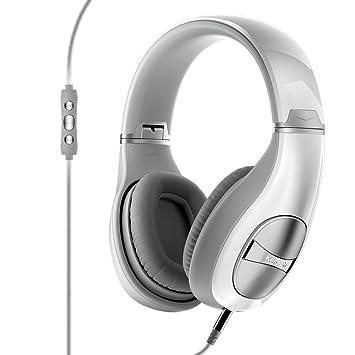 Klipsch Status - Auriculares de diadema cerrados inalámbricos (con micrófono, reducción de ruido), blanco: Amazon.es: Electrónica