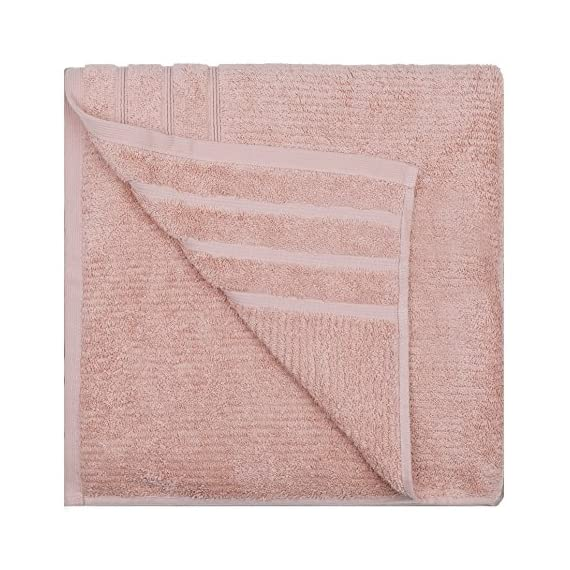 Jonny&Lora Advanced Anti-Fade Household Bath Towels Cotton 600 GSM Brown(28x55,inch) - Size:28*55,inch,Bath Towel Weight:588g Woven with 100% ring spun cotton, soft and comfortable, high tearing fastness and absorbent,Vertical line pattern design, Five-star hotel quality, unique style for you Machine washable, tumble dry on low. For best results, wash separately on first use to minimize lint. - bathroom-linens, bathroom, bath-towels - 61JqkqURQWL. SS570  -