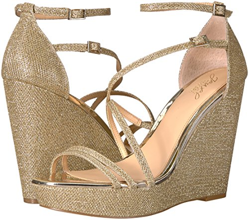 Badgley Mischka Jewel Donna  Tatsu Wedge Wedge Wedge Sandal - Choose SZ colore b77de8