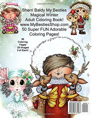 Amazon Sherri Baldy My Besties Magical Winter Coloring Book