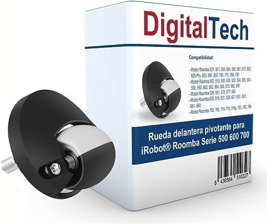 DigitalTech® - Rueda Delantera pivotante para iRobot Roomba Serie ...