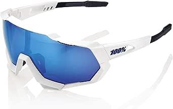 100% Speedtrap fietsbril unisex volwassenen, grijs kristal/gespiegeld zilver