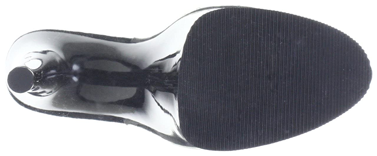 Pleaser Pleaser Pleaser FLAMINGO-801 Damen Sandalen Transparent (Clr/Blk) 5eace7