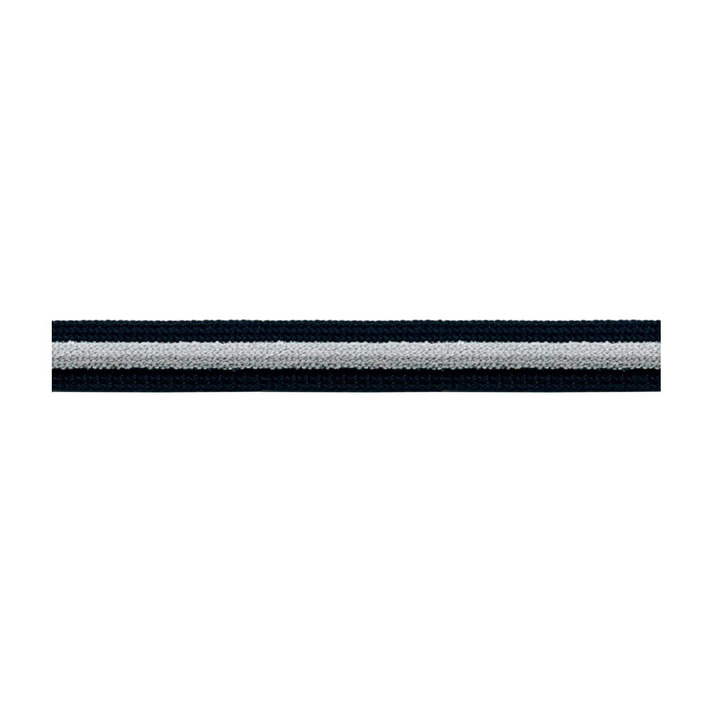 S.I.C. ストライプパイルテープ C/#14 ブラック×ペールシルバー×チャコール 1反(30m) SIC-1202   B07LG2LZH4