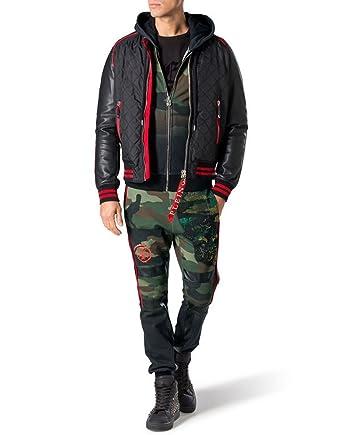 81210fef9555c Philipp Plein Pantalon - Tendance - Homme Vert Green - Vert - Medium ...