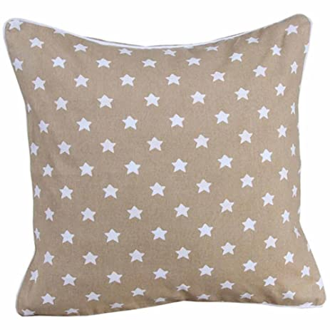 Amazon Homescapes Star Cushion Cover 40 X 40 Cm Square Impressive 30 X 30 Decorative Pillows