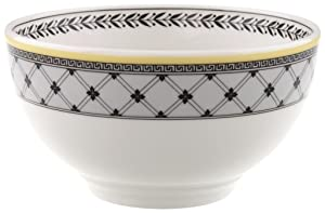 Audun Ferme Rice Bowl by Villeroy & Boch - Premium Porcelain - Made in Germany - Microwave and Dishwasher Safe - 20 Ounce Capacity