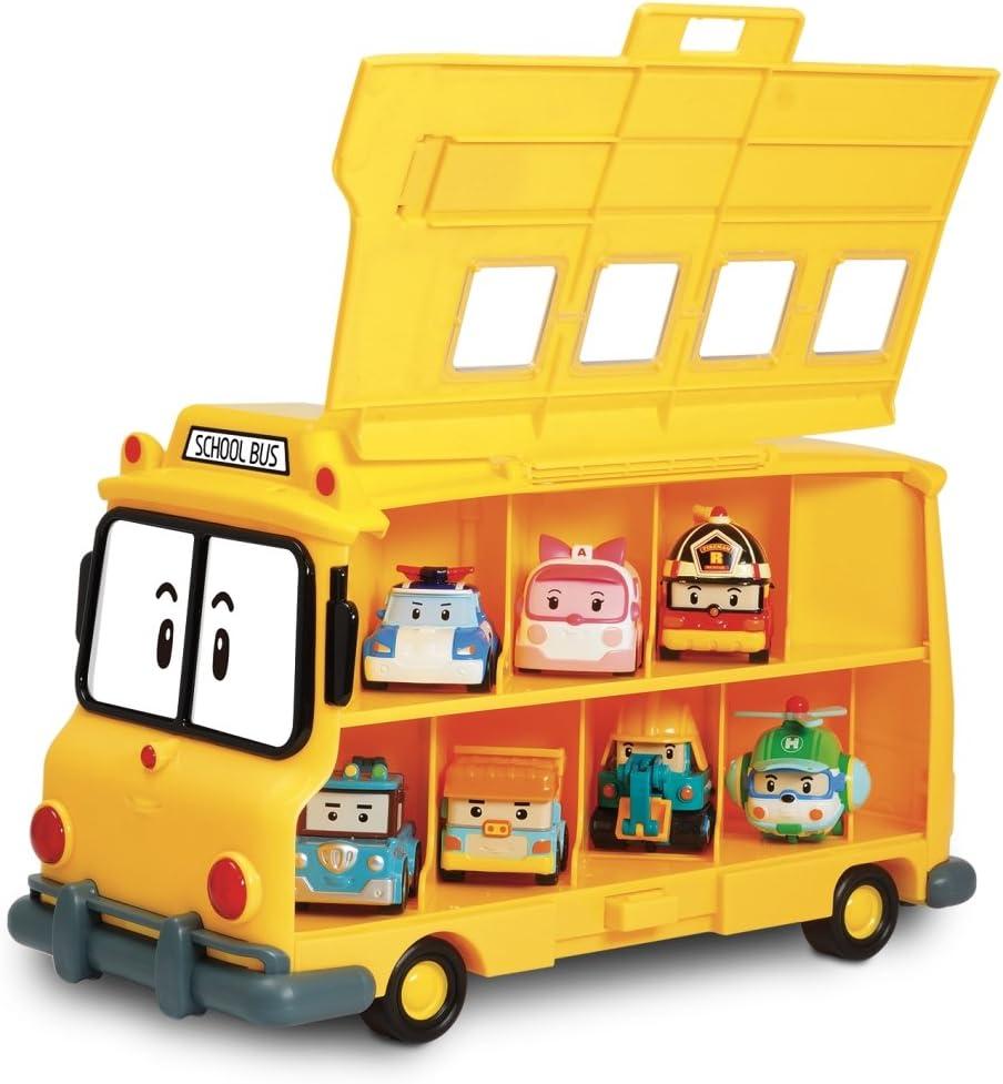 Rocco Giocattoli 83148 Robocar Poli Scuola Bus: Amazon.it