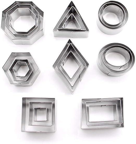 Amazon.com: DEVIN0705-24 - Troqueles de corte geométricos de ...