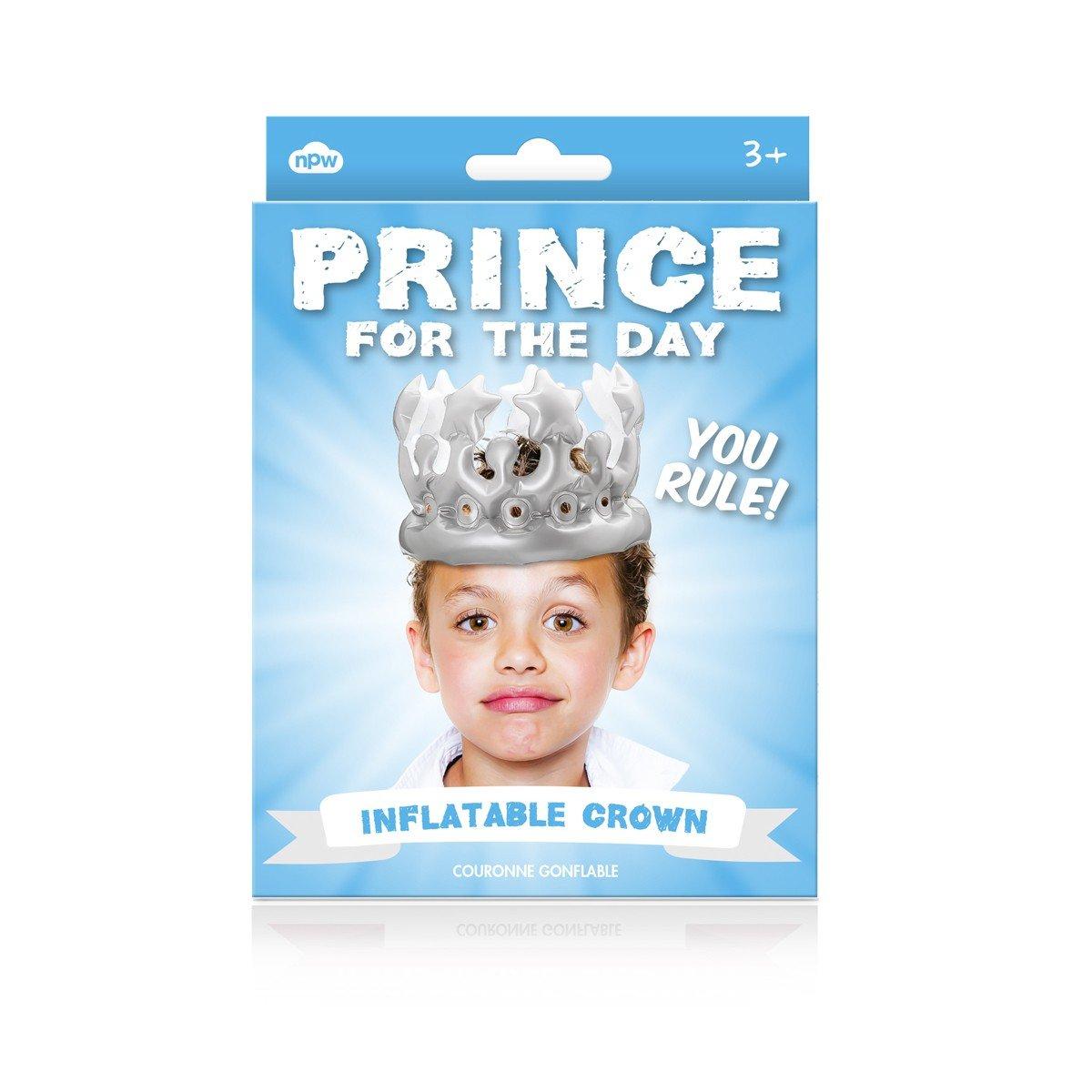 Hoy un Prinz - hinchable de cumpleaños Corona: Amazon.es: Hogar
