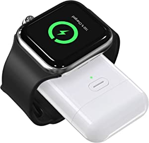 OIFEN for Apple Watch Wireless Charger, Portable iWatch Charger Magnetic Wireless Charger 1000mAh Power Bank for Apple Watch Series 6/SE/5/4/3/2/1