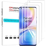 (3 Pack) Orzero Compatible for OnePlus 8 Pro (Premium Quality) Edge to Edge (Full Coverage) Screen Protector, High Definition