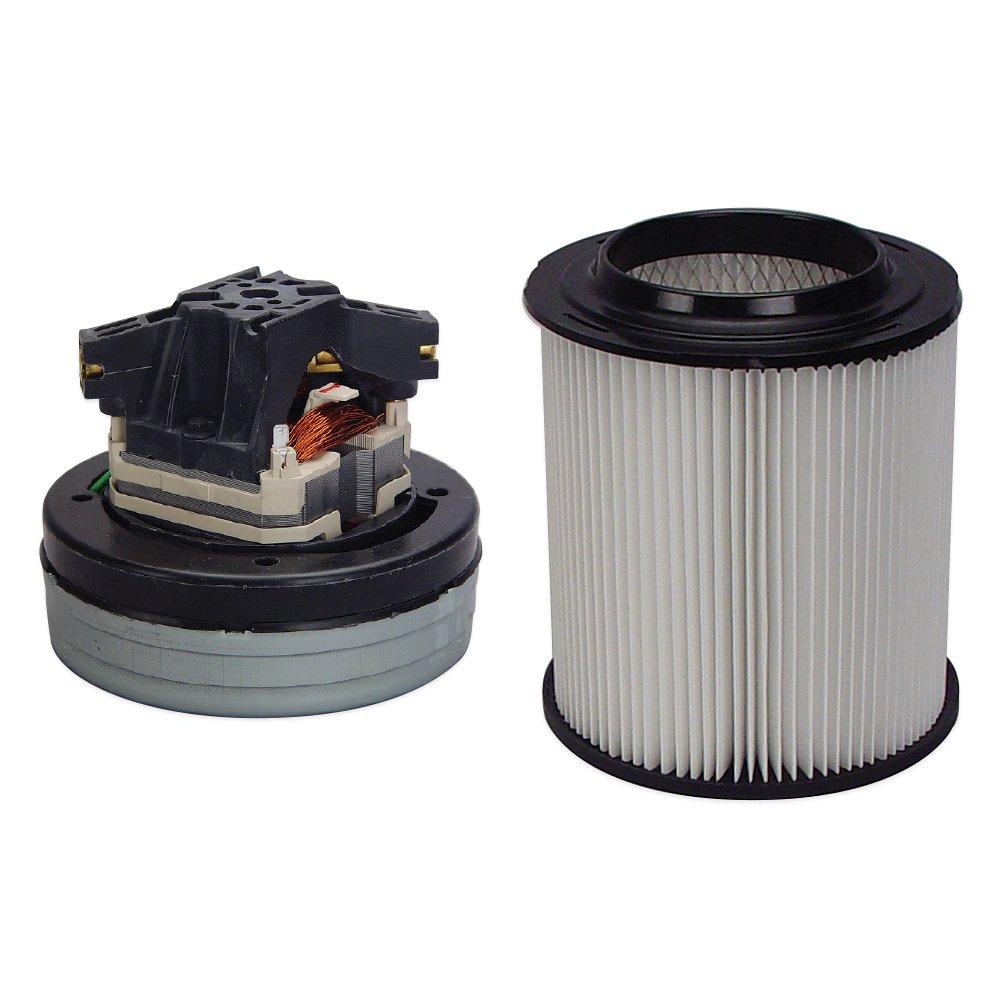 Skat Blast Sandblast Cabinet Vacuum Motor 6008-00 Bundled with Skat Blast HEPA Filter Cartridge 6011-HEPA