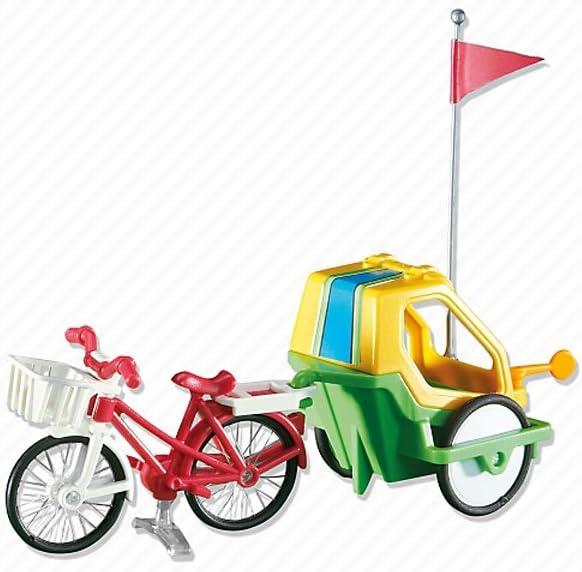 Outletdelocio Playmobil 6388. Bicicleta con Remolque para Niños ...