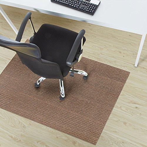 Design Bodenschutzmatte Modena in 6 Größen | dekorative Unterlegmatte für Bürostühle oder Sportgeräte (200 x 180 cm)