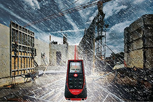 Leica DISTO E7500i 660ft Laser Distance Measure w/Bluetooth & DISTO Sketch iPad iPhone App, Black/Red by Leica Geosystems (Image #5)